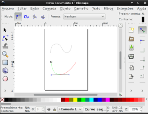 Inkscape - Curvas de Bézier