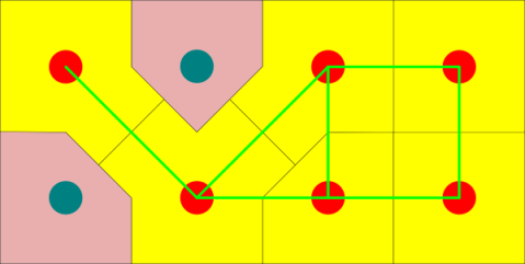 An accurate generalized Voronoi diagram