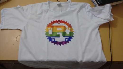 Minha camisa do orgulho Rust