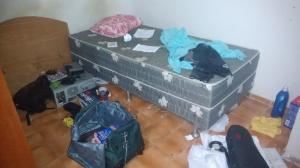 Meu quarto temporário